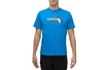 The North Face Men's S/S Easy T-Shirt bleu athènes/bleu eaux pro